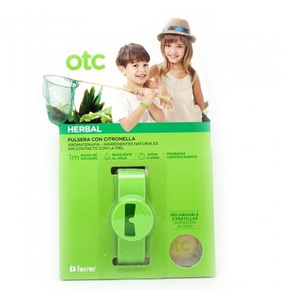 Otc Antimosquitos Herbal Pulsera Citronella Verde