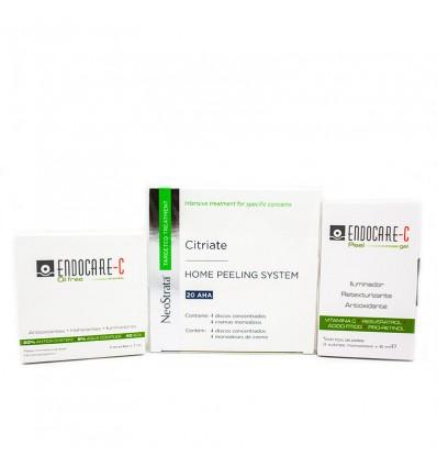 Neostrata Citriate Hps 20 AHA Pack Ampollas C-peel Regalo