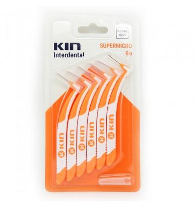 Kin Cepillo Interdental Supermicro 6 Unidades