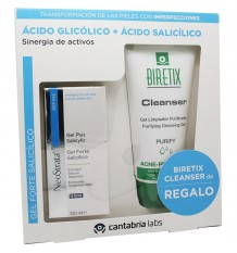 Neostrata Gel Forte Salicilico 100 ml Pack Biretix Cleanser 150 ml