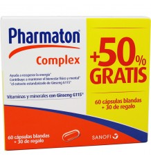 Pharmaton Complex 60 Capsulas + 30 Capsulas Regalo