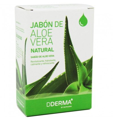 Dderma Savon à l'Aloe Vera 100 g
