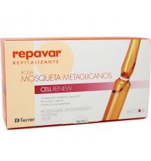 Repavar Revitalizante Rosa Mosqueta Metaglicanos Cell Renew 30 ampolas