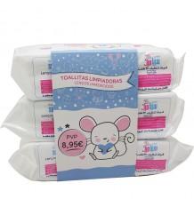 Baby Sebamed Baby Wipes Triple Line 216 Einheiten