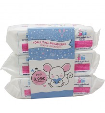 Baby Sebamed Baby Wipes Triple Line 216 Units