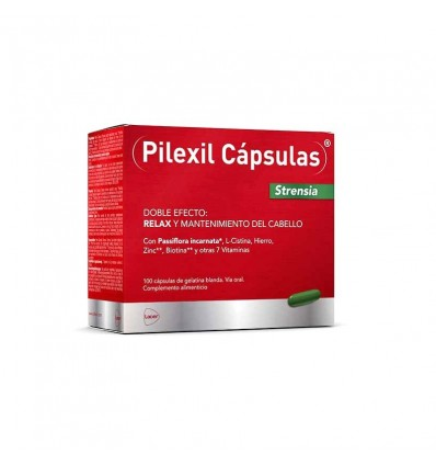 Pilexil Strensia 100 Cápsulas