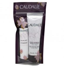 Caudalie Creme Hände 30 ml Lippen-4.5 g-Packung Duo