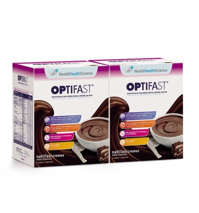 Optifast Natillas Chocolate 16 Sobres Duplo