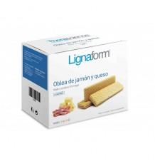 Lignaform Obleas Jamon Y Queso 5 Unidades Gama Azul