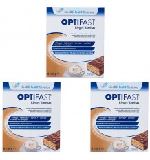 Optifast Bars Cappuccino triple line 18 units