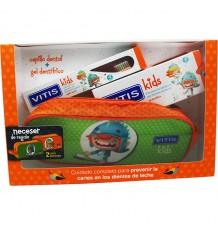 Vitis Enfants Pinceau Gel Fraise 50 ml Affaire Pack