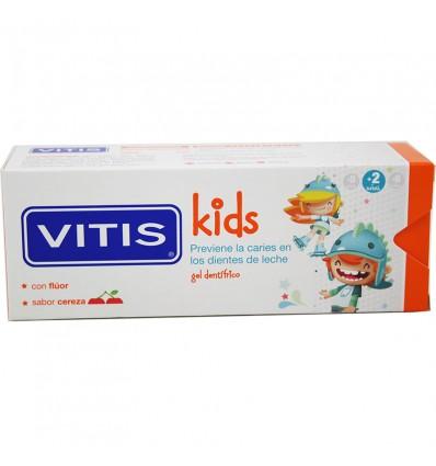 Vitis Kids Gel Dentifrico Cereza 50 ml