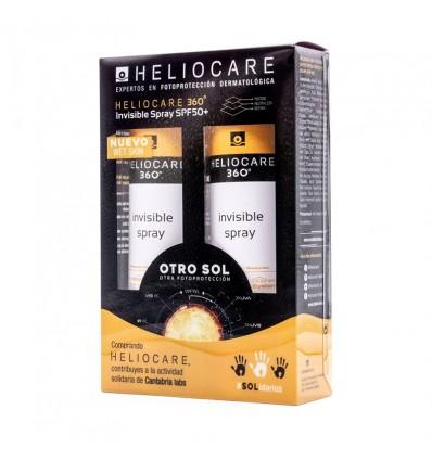 Heliocare 360 Invisible Spray wet Skin 200 ml Duplo Oferta