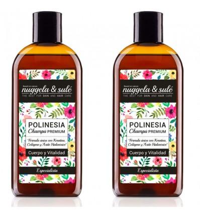 Nuggela Sule Shampoo-Polynesien Keratin Dual 500 ml