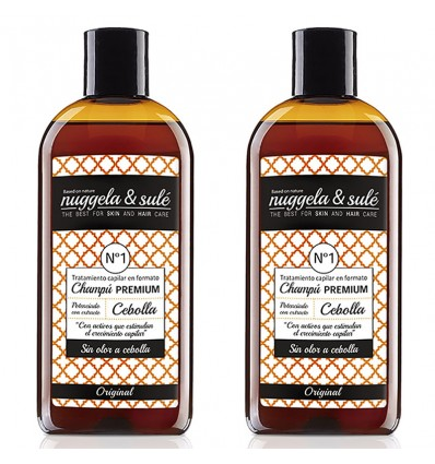 Nuggela Sule Zwiebel Shampoo Anticaida Duplo 250ml + 250ml