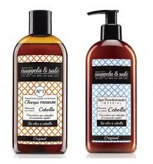Nuggela Sule Zwiebel Shampoo Anticaida Supracondicionador Pack Duplo