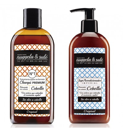 Nuggela Sule Shampooing Oignon Anticaida Supracondicionador Pack Duplo