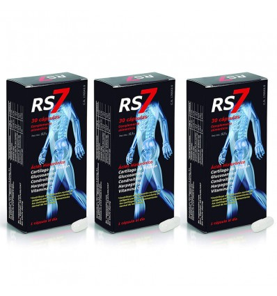 Rs7 Articulaciones Triplo 90 Capsulas