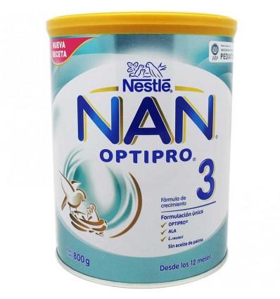 Nan 3 expert 800 gramos opti pro