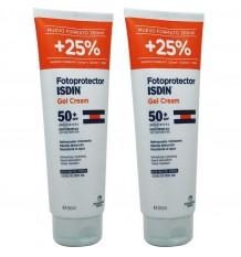 Fotoprotector Isdin 50 Gel Crema 250 ml Pack Duplo Promocion