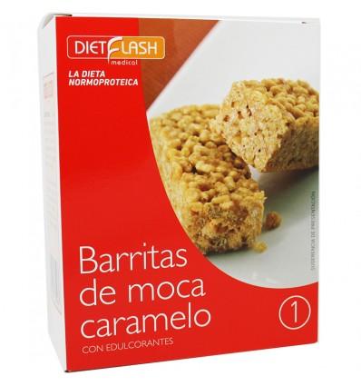 Dietflash Moca Caramelo 5 Unidades
