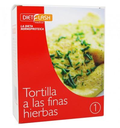 Dietflash Tortilla finas Hierbas 6 Sobres