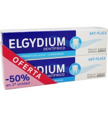 Elgydium Dentifrico Pasta Antiplaca 75 ml Duplo