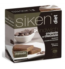 Sikendiet Sandwich Chocolate 6 Unidades