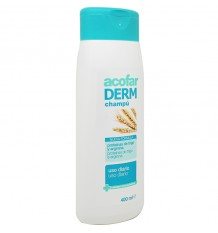 Acofarderm Xampu Diário Proteínas de trigo Arginina 400 ml