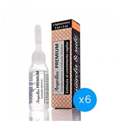 Nuggela Sule Ampolla Premium Anticaida 6 Unidades Tratamiento mes