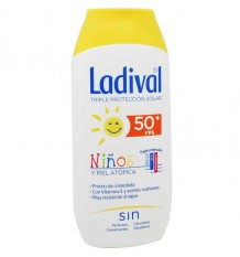 Ladival Niños 50 Locion Gel Crema 200 ml