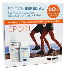 Sunscreen Isdin Sport Pack Fusion Water Fusion Gel