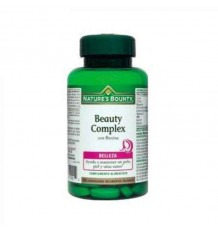 Nature's Bounty Beauty Complex Belleza Biotina 60 Comprimidos