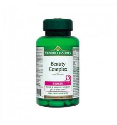 Nature's Bounty Beauty Complex Belleza Biotina 60 Comprimidos