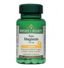 Nature's Bounty Magnesio 250 mg 100 Comprimidos