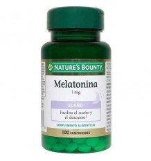 Nature's Bounty Melatonina 1mg 100 Comprimidos