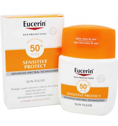 Eucerin Solar 50 Fluido Facial Matificante 50 ml