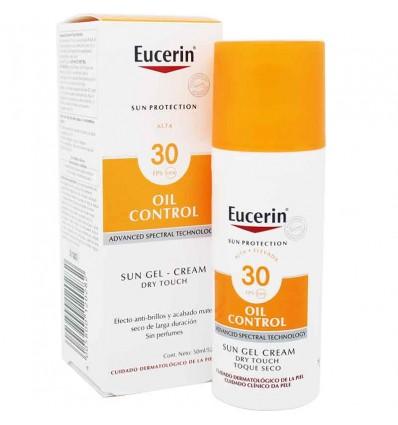 Eucerin Solar 30 Oil Control Dry Touch 50 ml