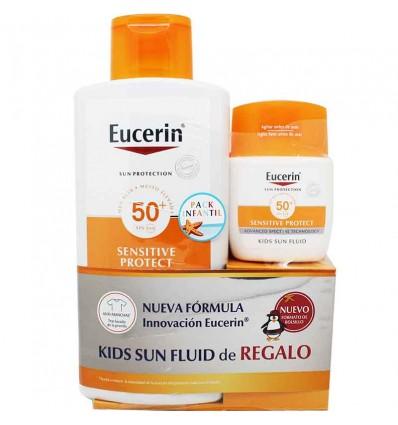 Eucerin Solar 50 Niños Locion 400 ml Regalo Facial Infantil