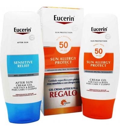 Eucerin Solar 50 Sun Allergy 150 ml After Sun 150 ml Regalo