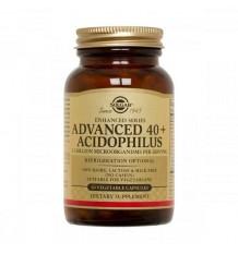 Solgar 40 Plus Acidophilus 60 Capsulas