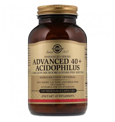 Solgar 40 Plus Acidophilus 120 Capsulas