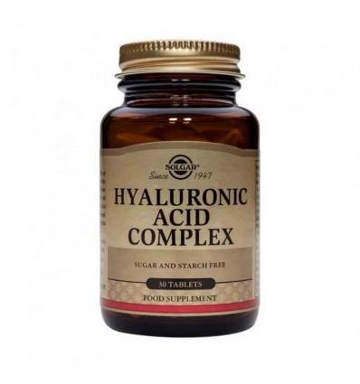 Solgar Acido Hialuronico Complex 30 Comprimidos