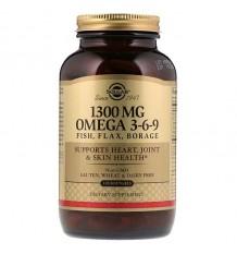 Solgar Omega 3-6-9 120 Capsules