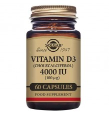 Solgar Vitamin D3 4000 iu-60 Kapseln