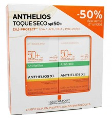 Anthelios 50 Crema Toque Seco 50 ml Duplo Ahorro