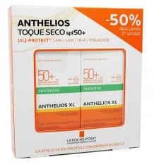 Anthelios 50 Crème Toucher Sec 50 ml Duplo Épargne