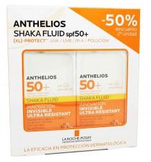 Anthelios 50 Shaka qui Coule de 50 ml Duplo Épargne