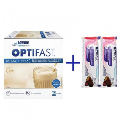 Optifast Batido Cafe 12 sobres