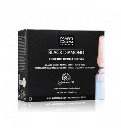 Martiderm Black Diamond Epigence Optima SPF50 10 ampolas